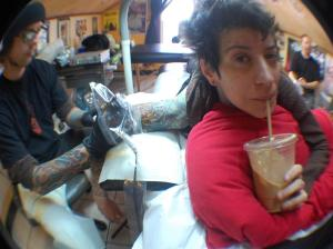 coffee and tattoos