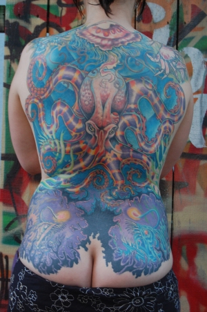 collaborative backpiece
