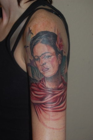 frida kahlo tattoo