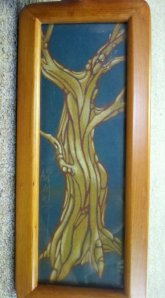 tree art, drawing