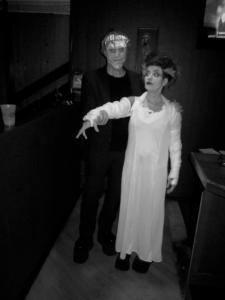 frankenstein halloween couple costume
