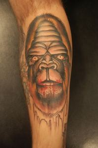 sasquatch tattoo