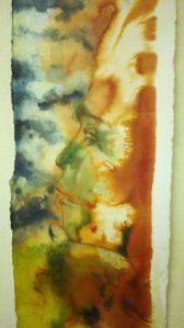 sasquatch painting, cryptid art