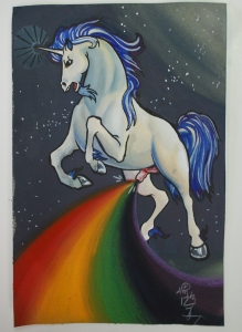 adult rainbow unicorn