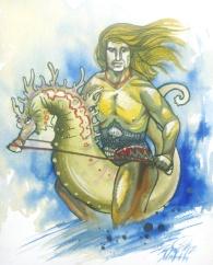 fabio, seahorse