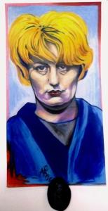 sociopath myra hindley, creepy art, serial killer