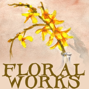 floral paintings, flower art, floral tattoo flash