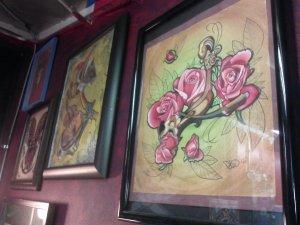 some of Lisa's art
