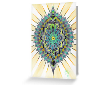 green mandala blank greeting cards happy holiday neutral greeting cards inclusive holiday cards nondenominational holiday cards seasons greetings