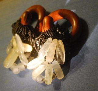 ear weights, coils, stretched ear jewelry